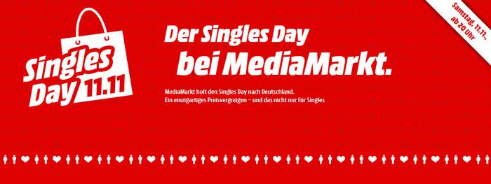 Media Markt Singles Day Schnäppchen