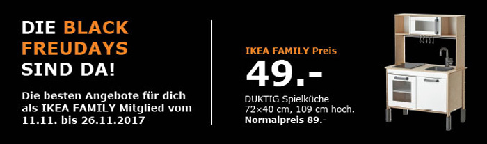 IKEA Black Freudays Singles Day