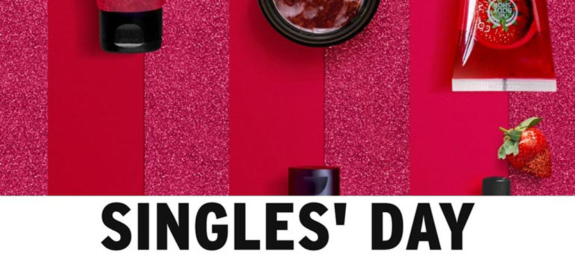 The Body Shop Singles Day