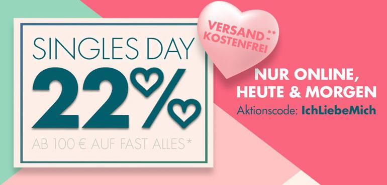 Galeria Kaufhof Singles Day