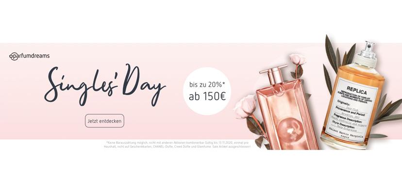 parfumdreams Singles Day